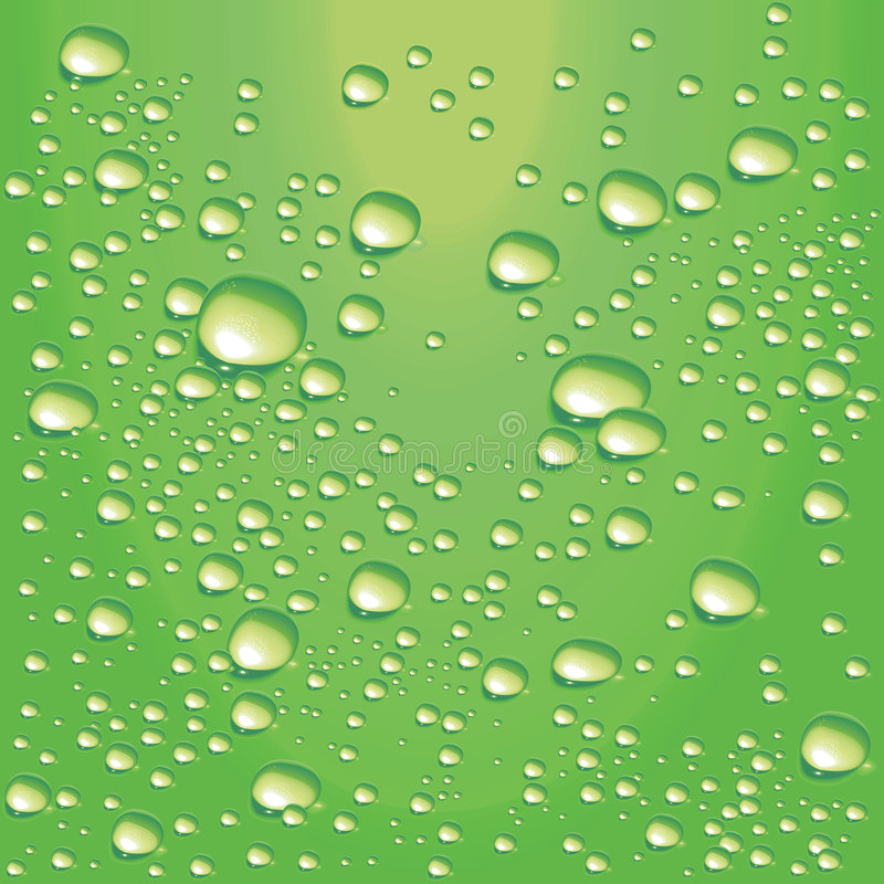 Free Vector Lime-green Water Bubbles Stock Photo - 7978500