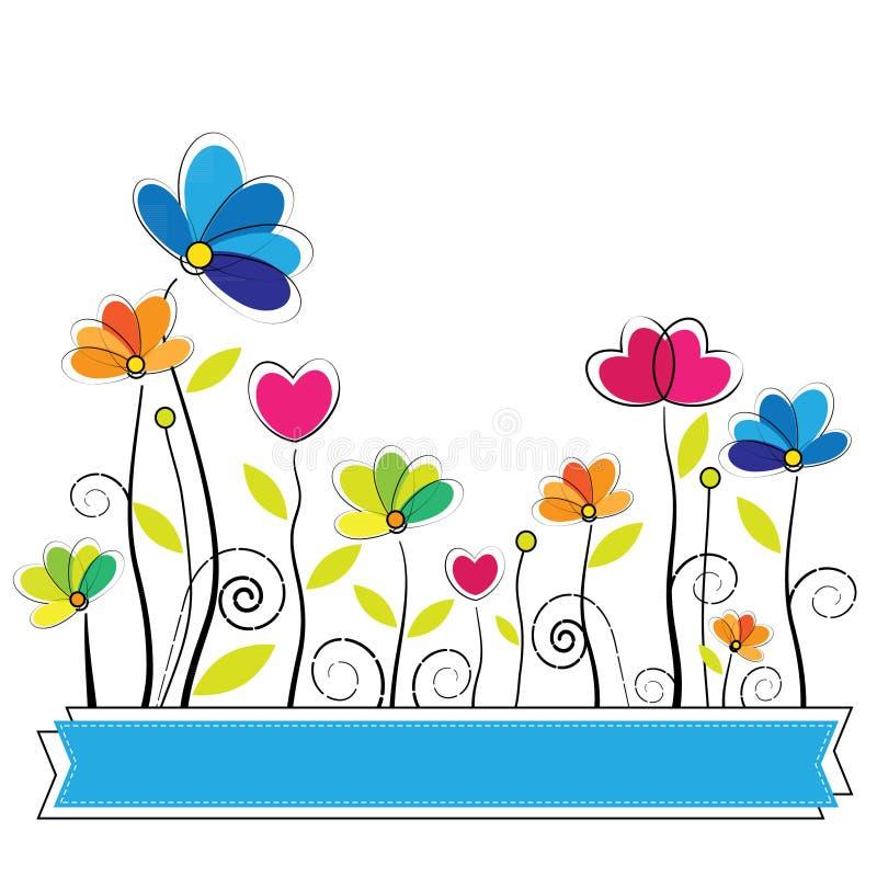 Vector lindo de la flor libre illustration