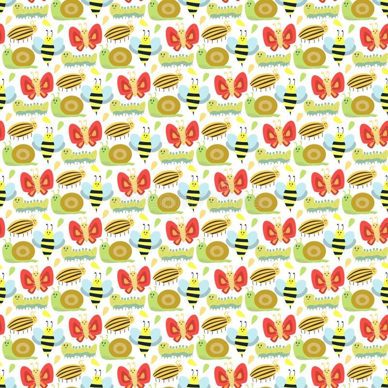 Vector lindo de la mariposa aislado en blanco ilustración del vector