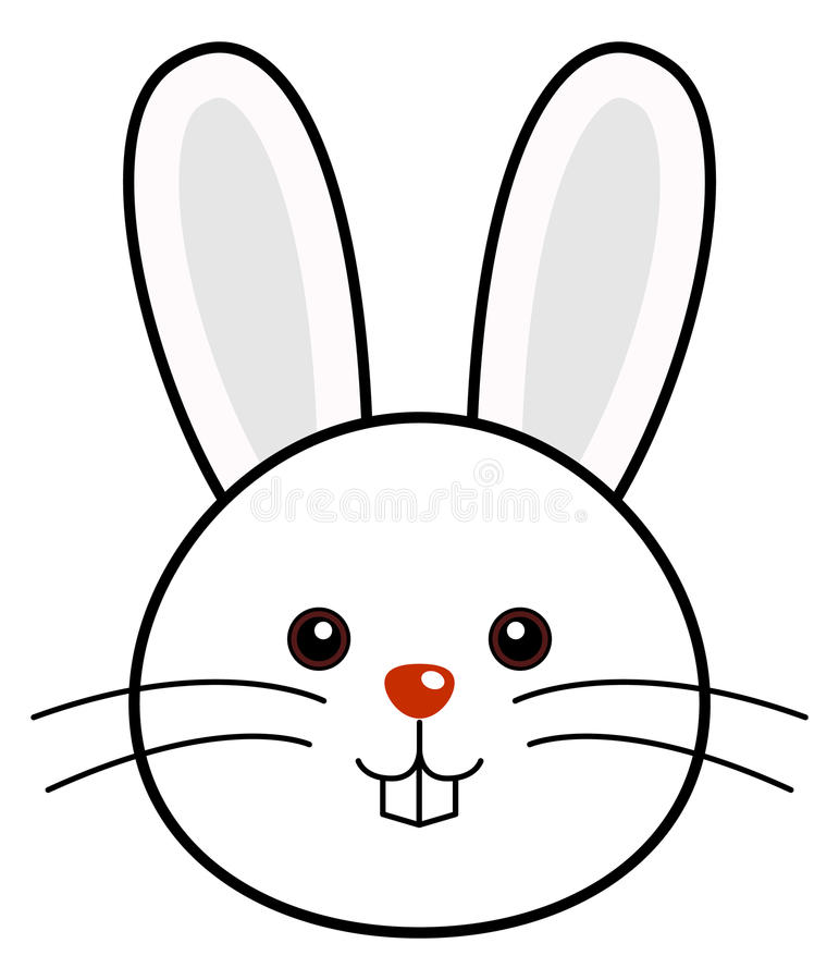 Vector lindo del conejo libre illustration