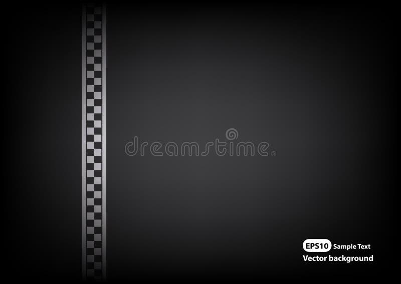 Vector line racing background. Is a general illustration stock illustration