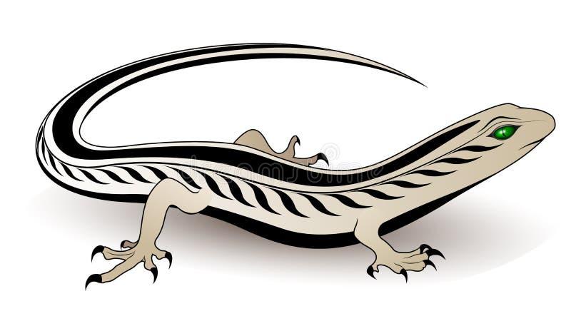 Vector lizard vector illustration