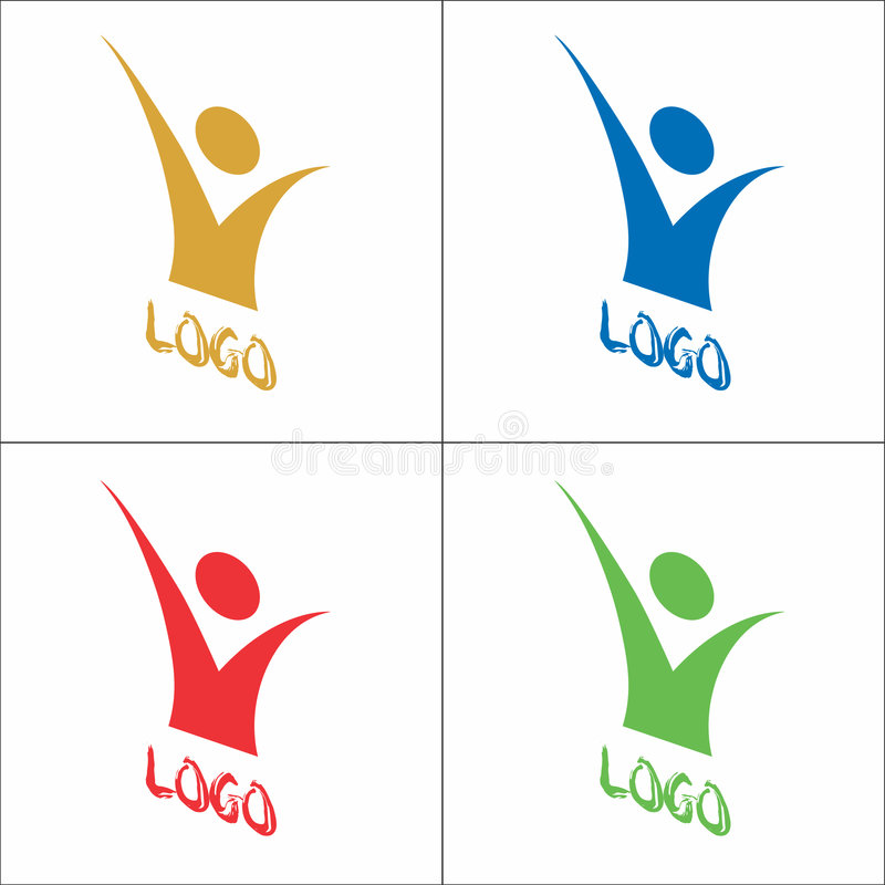 Download Vector Logo stock vector. Image of corporation, colourful - 6946384