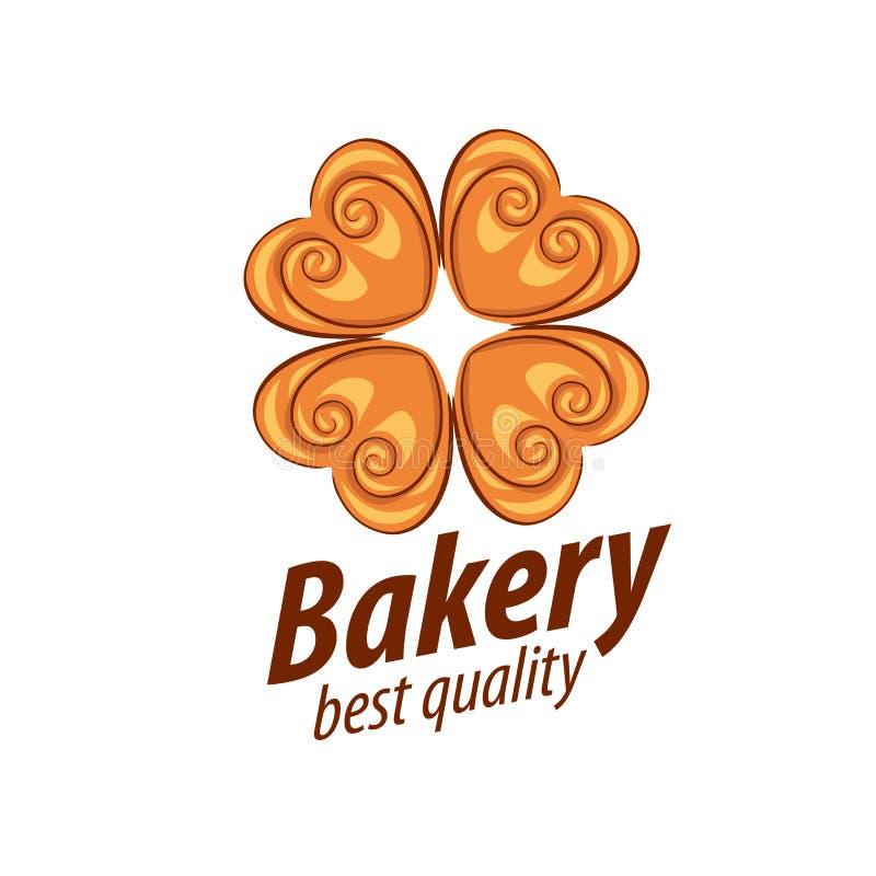 Vector logo bread. Logo design template bread. Vector illustration of icon royalty free illustration