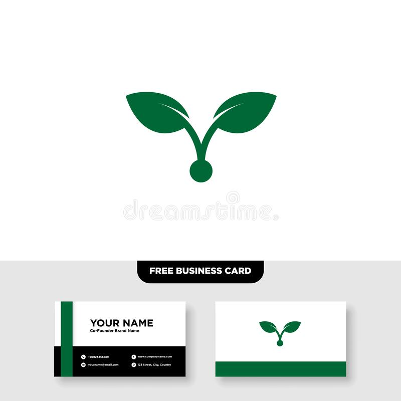 Vector logo design for agriculture, agronomy, rural country farming field, natural harvest. EPS 10, Full Vector, Jpeg High Resolution, 300 DPIb stock illustration