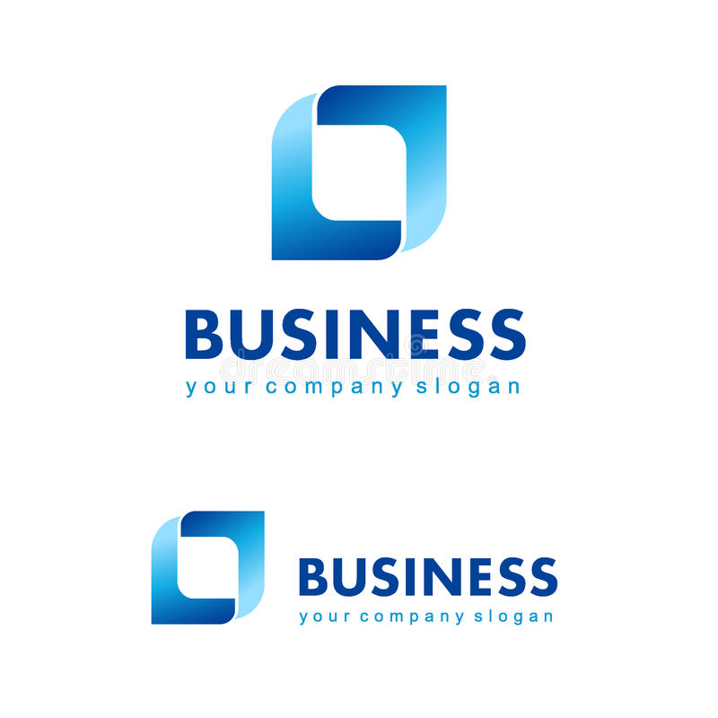 Vector logo design for business. Vector illustration stock illustration