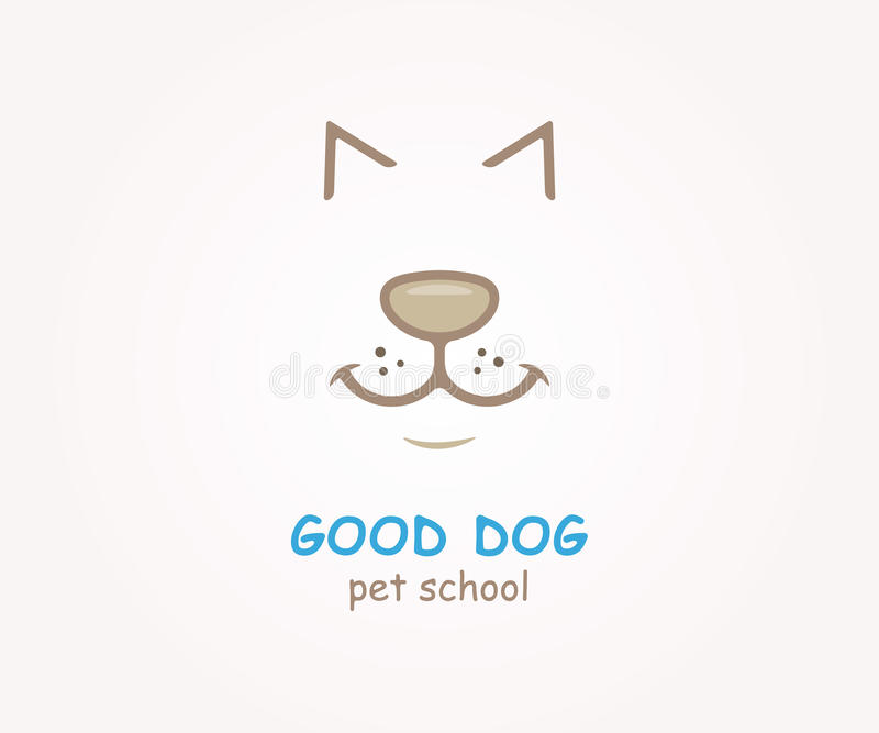 Vector Logo Design Element. Dog, Animal, Pet Stock Vector ...