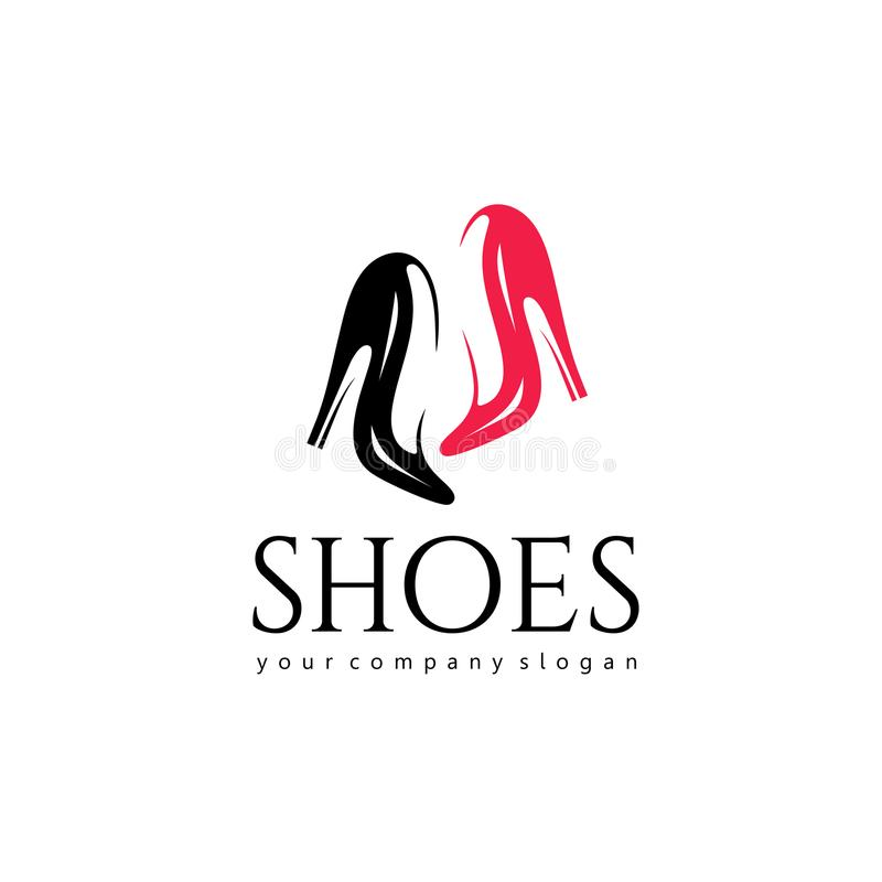 download vector logo design for shoes shop women shoes sign stock vector illustration of