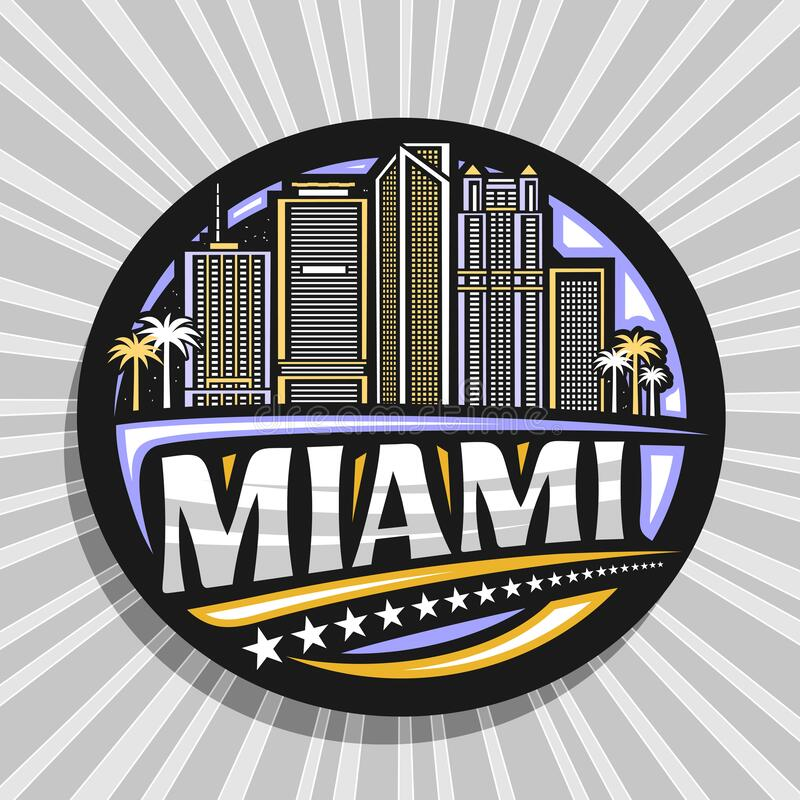 Free Vector Logo For Miami Royalty Free Stock Photo - 217536845