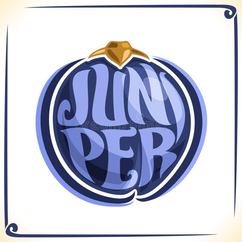 Vector Logo For Juniper Stock Vector Illustration Of Juniper
