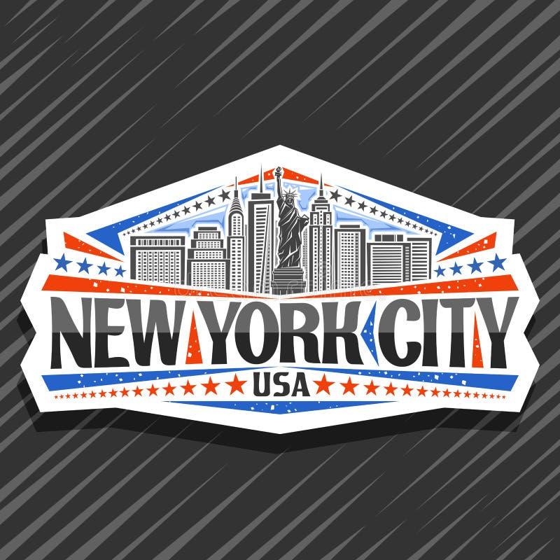 New York City Logo Stock Vector. Illustration Of Business