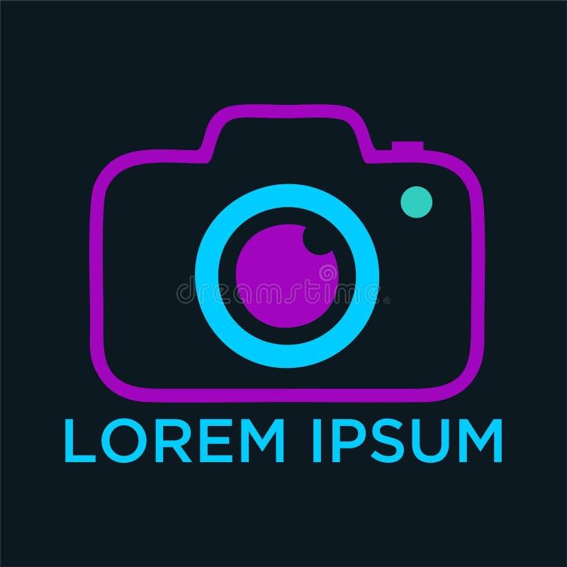 Download Vector Logo For Photographer Stock Vector - Illustration of emblem, concept: 107448676