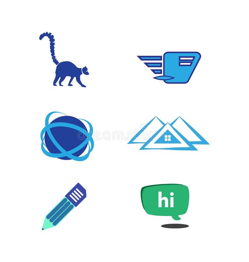 Vector logo set vector illustration