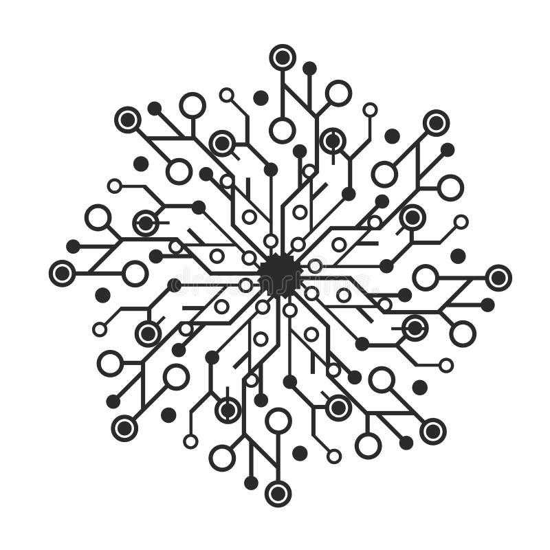 technology logo stock vector  illustration of money  symbol