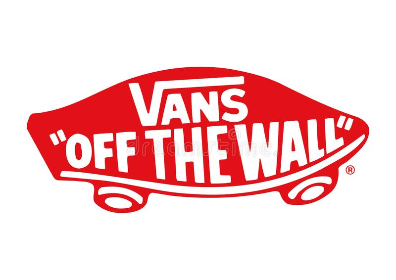 Vans off the wall Logo editorial photography. Illustration of logo ...