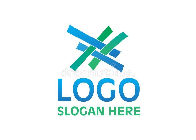 Vector - logotipo de la unidad, aislado en el fondo blanco Ilustración del vector libre illustration