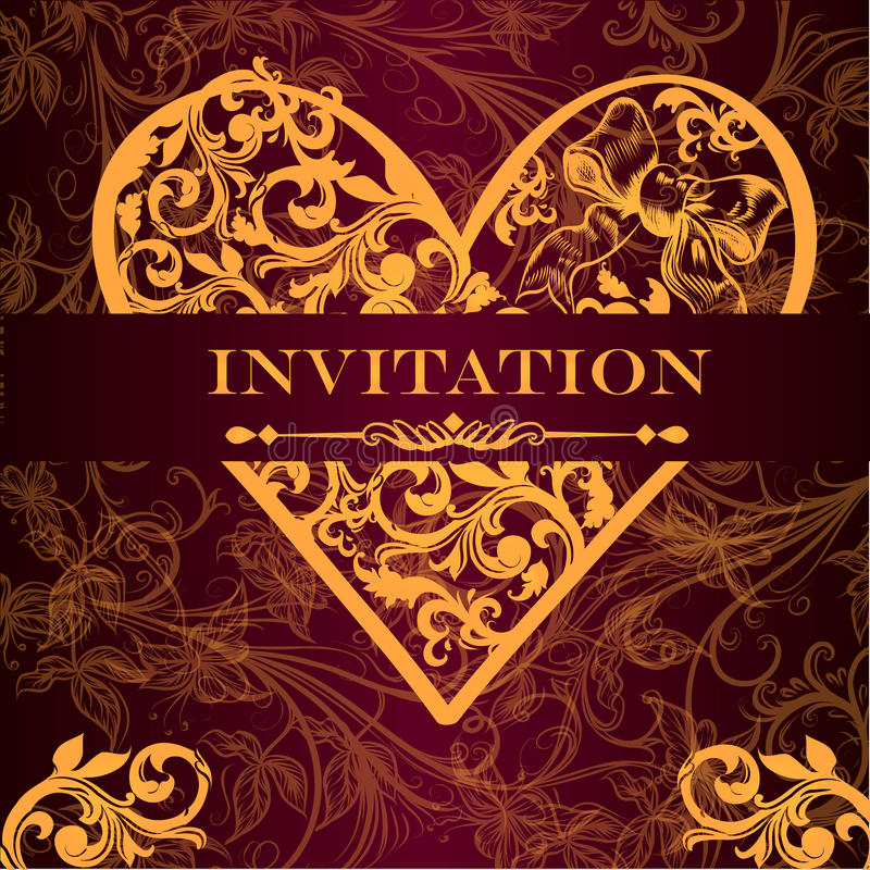Vector luxury royal invitation card for design stock vector download vector luxury royal invitation card for design stock vector illustration of flourish certificate stopboris Image collections