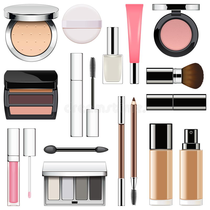 Free Vector Makeup Icons Set 2 Stock Photo - 86800440
