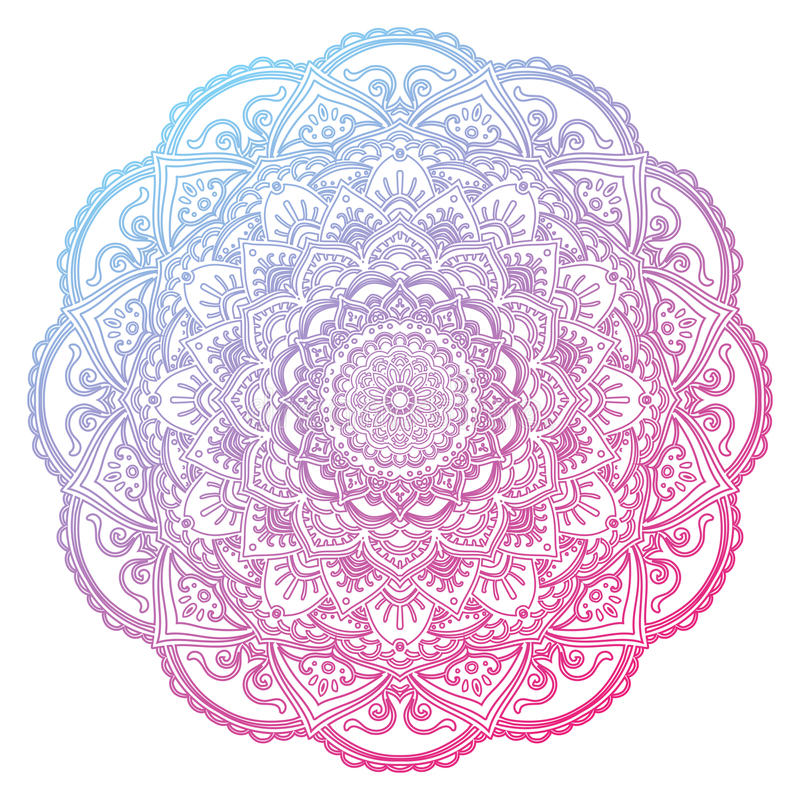 Vector Mandala. Mandala Lace Ornament. Vector illustration vector illustration