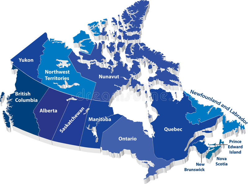 download vector map of canada stock vector illustration of british 30543691