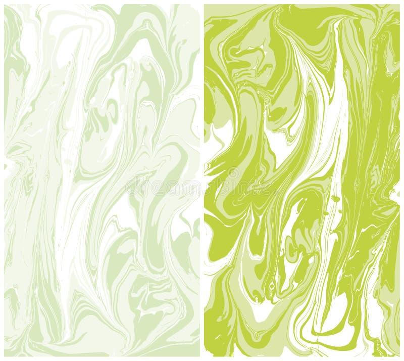 Vector marble texture, background ebru abstract Liquid paint vector illustration
