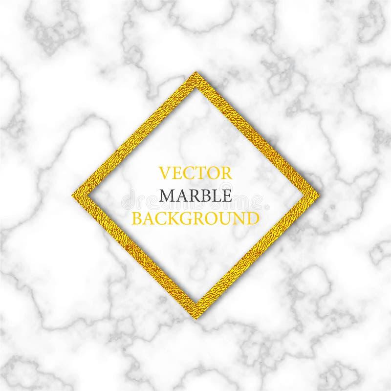 Vector marmeren textuur stock illustratie