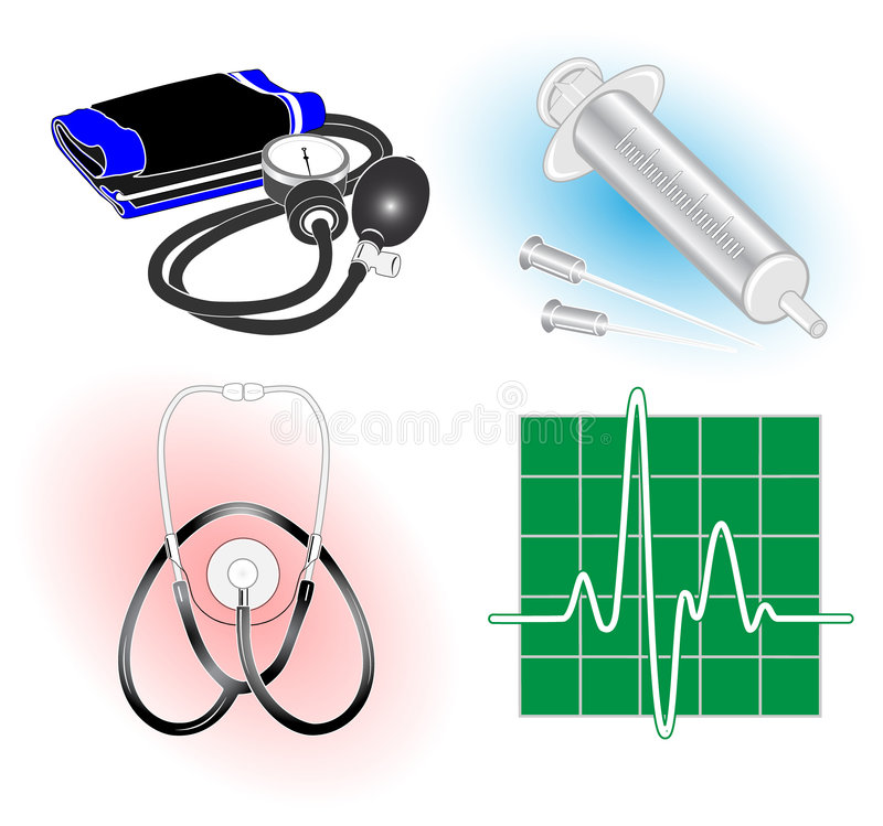 Download Vector medical icons stock vector. Image of graphic, instrument - 6072560