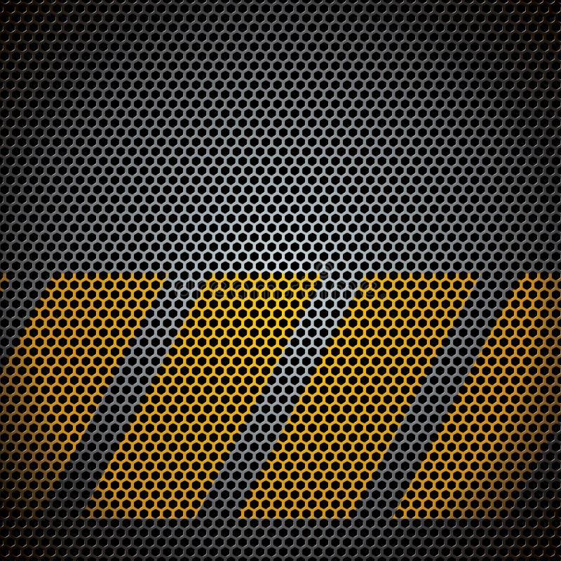 Download Vector metaalnet vector illustratie. Illustratie bestaande uit ijzer - 29509275