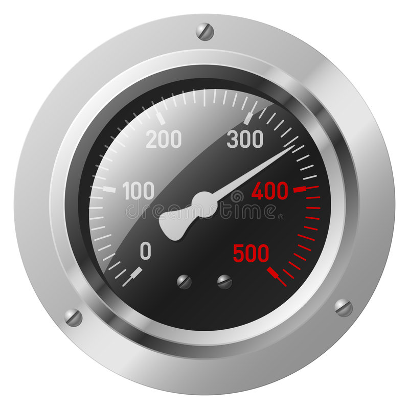 Vector meter vector illustratie