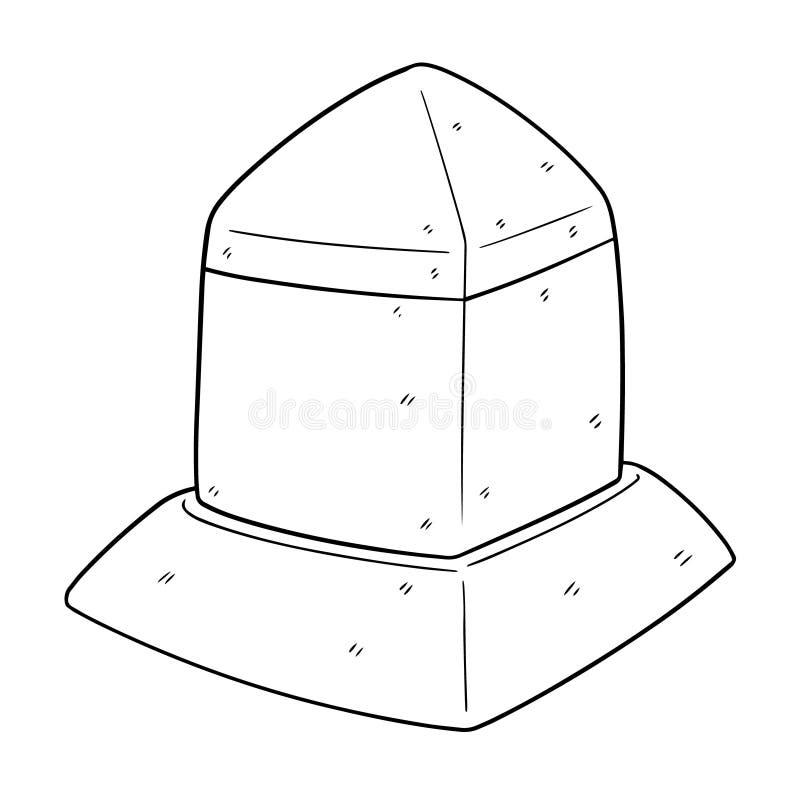 Vector of milestone vector illustration