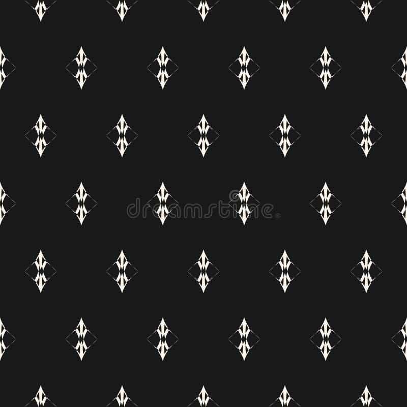 Vector minimalistisch naadloos patroon Luxe uitstekend ontwerp voor decor, stof, dekking, Web vector illustratie