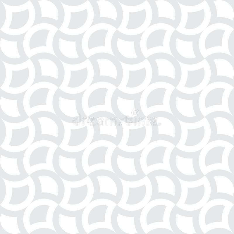 Vector modern abstract meetkunde vierkant patroon grijze subtiele naadloze geometrische achtergrond vector illustratie