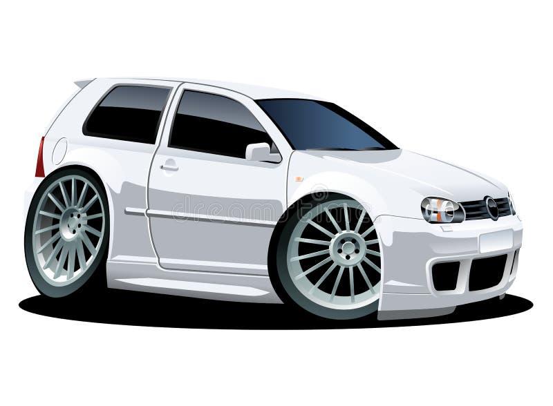Download Vector modern cartoon car stock vector. Image of race - 17441258