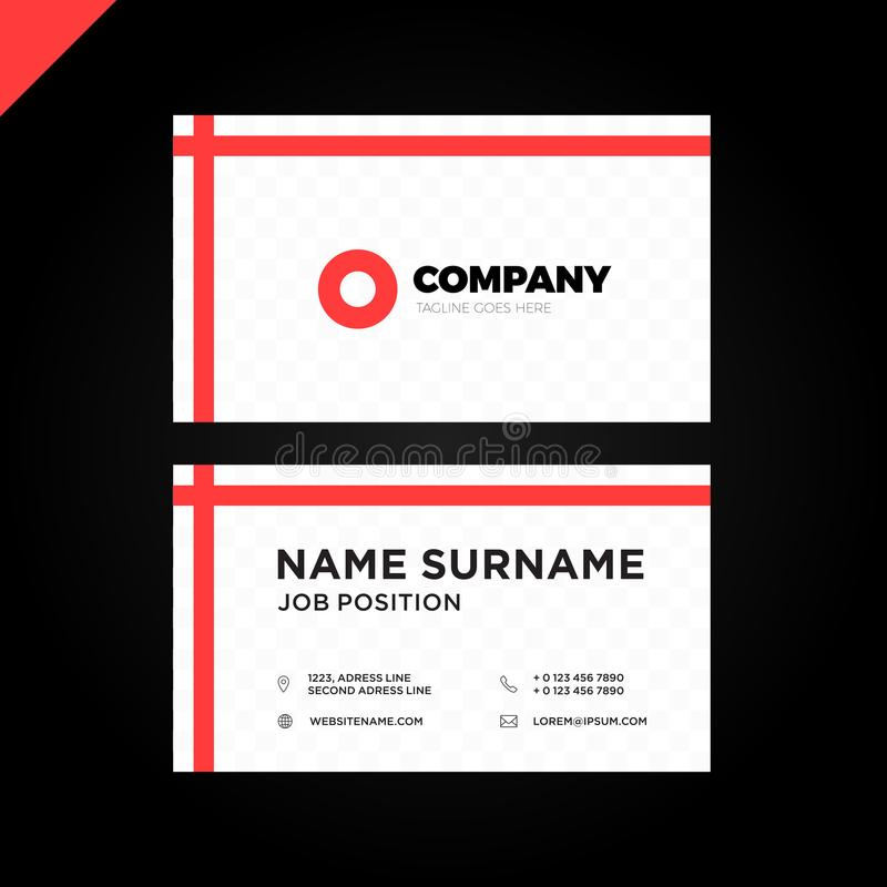 Vector modern creative and clean business card template stock vector download vector modern creative and clean business card template stock vector illustration of graphic colourmoves