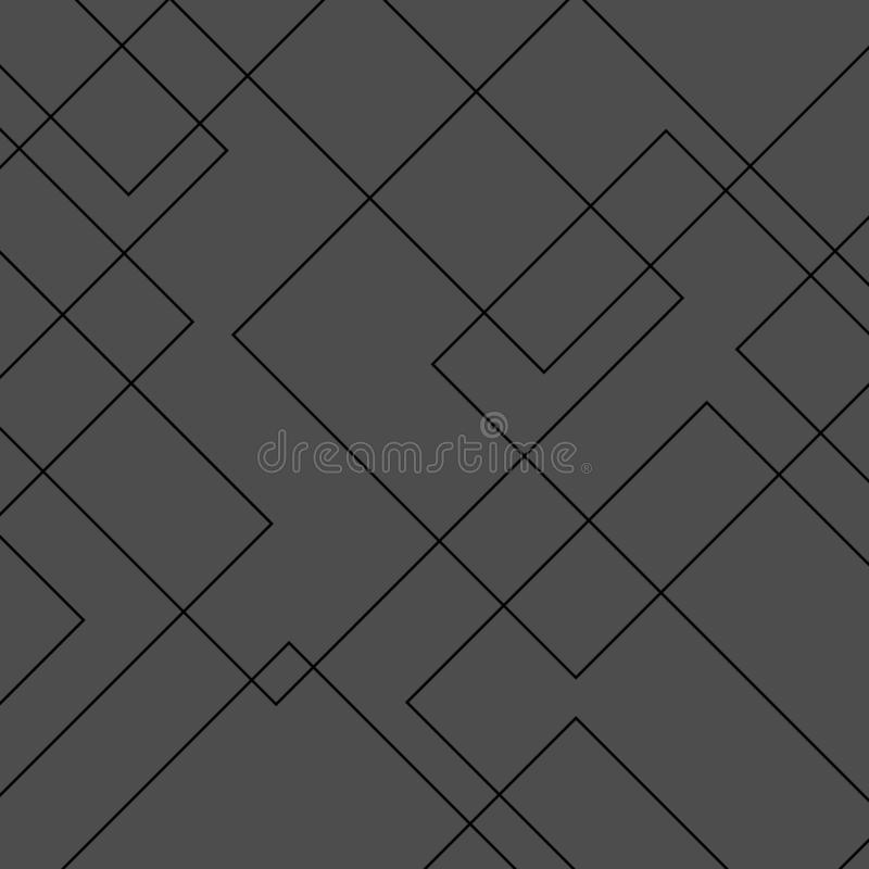 Free Vector Modern Geometric Square Diamond Shape Pattern. Simple Abstract Background Royalty Free Stock Photos - 140342068
