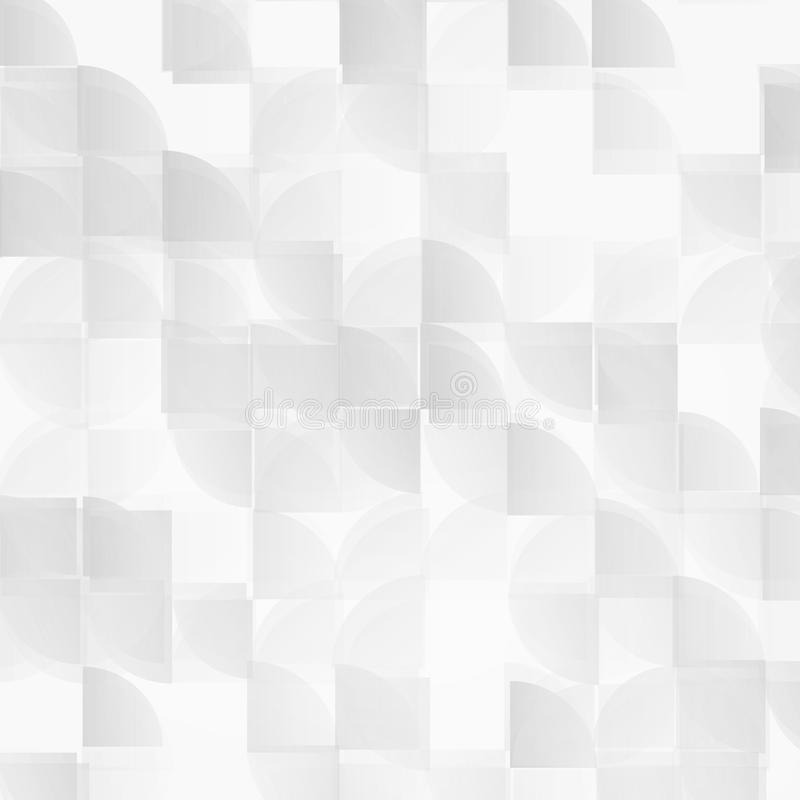Vector modern geometrical abstract background. royalty free illustration