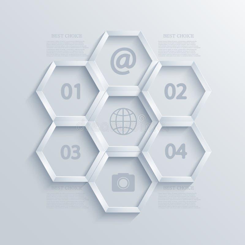 Vector modern infographic elementenontwerp. Eps10 vector illustratie