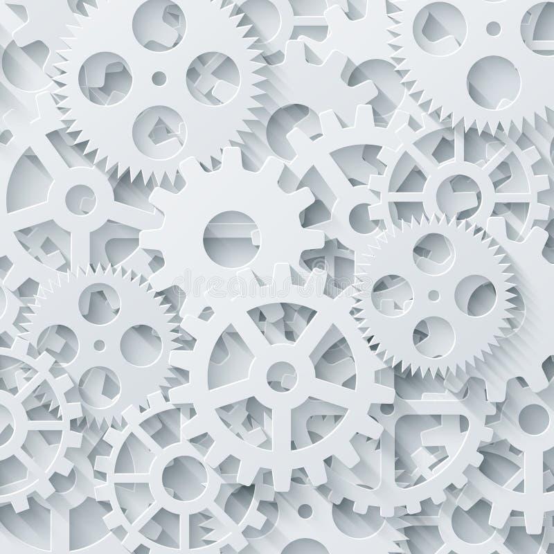 Vector Modern Mechanism Industrial Concept  Technology