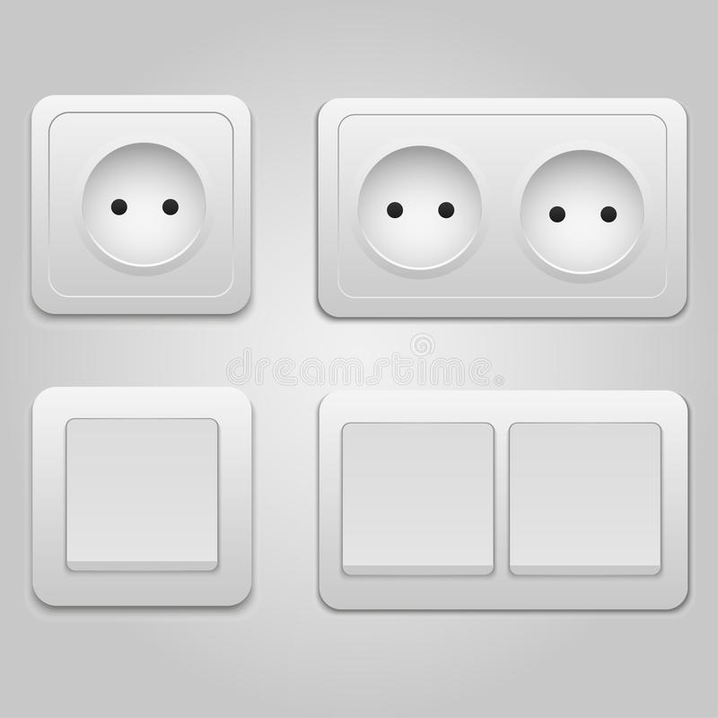 Modern Light Switches And Sockets. Cool Designer Light Switches ...