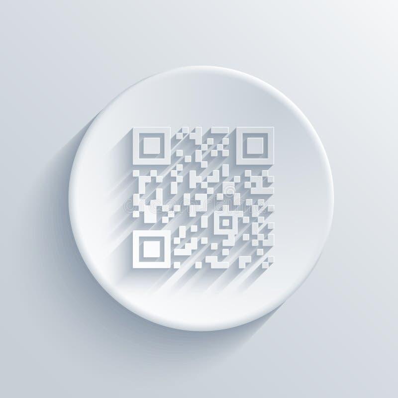Vector modern qr code background vector illustration