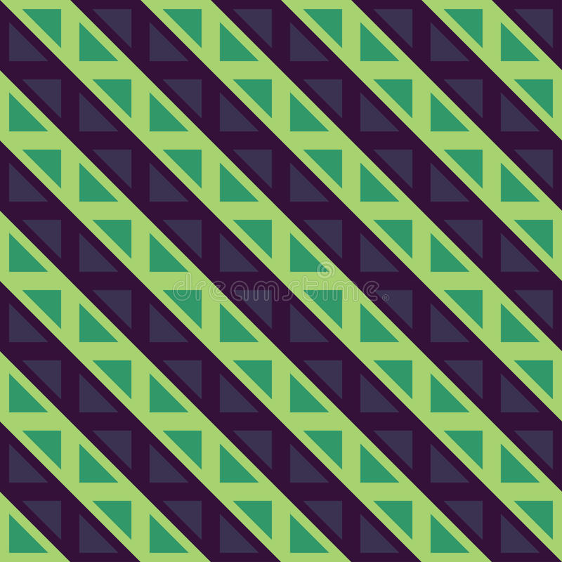 Vector Modern Seamless Colorful Geometry Lines Pattern