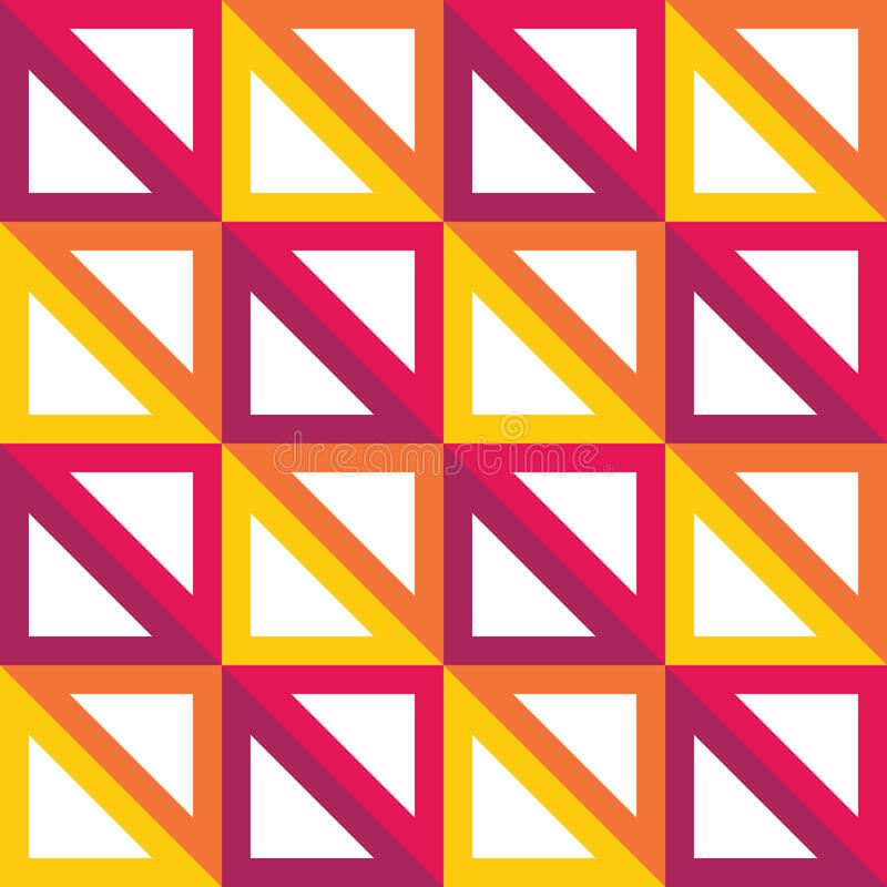 Vector Modern Seamless Colorful Geometry Triangle Pattern ...
