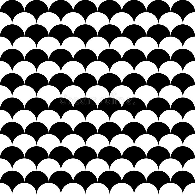 Vector modern seamless geometry pattern balls royalty free illustration