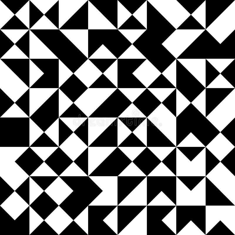 Vector Modern Seamless Geometry Pattern Random Triangle ...