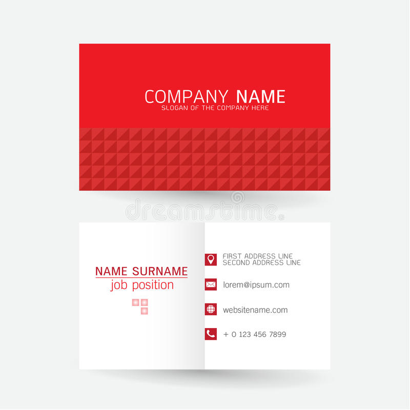 Vector modern simple light business card template with flat user vector set modern simple light business card template with flat user interface on gray background reheart Gallery