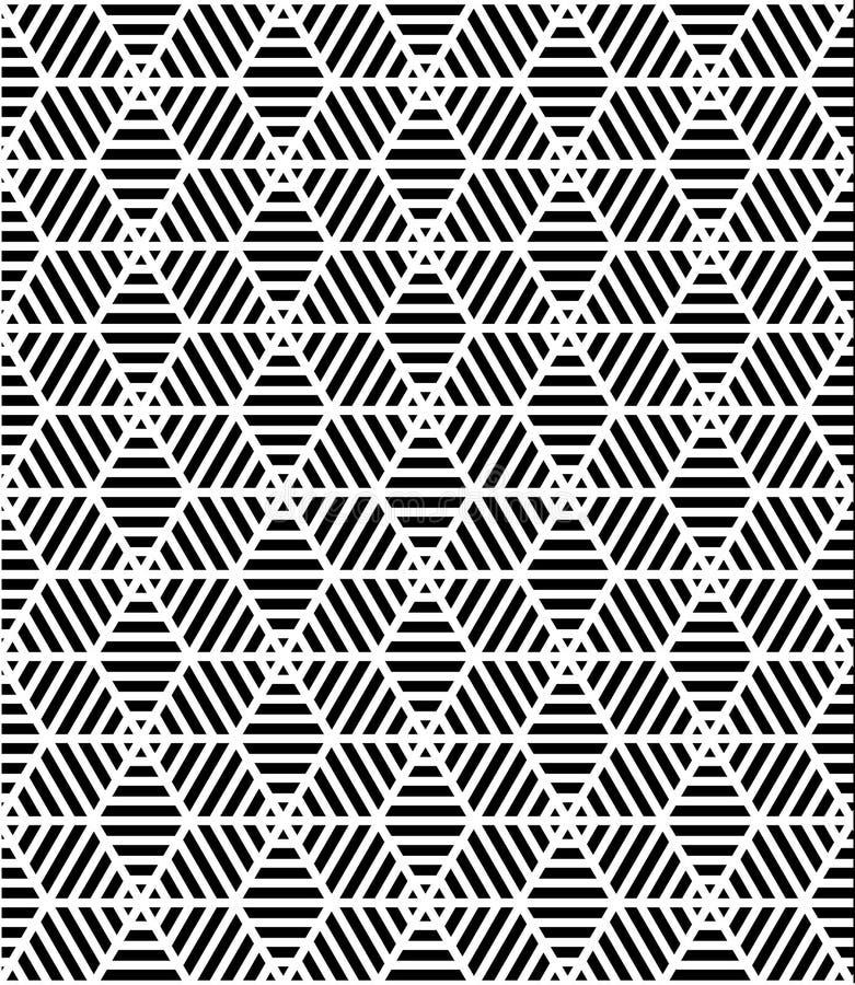 Vector moderne naadloze patroon heilige meetkunde royalty-vrije illustratie