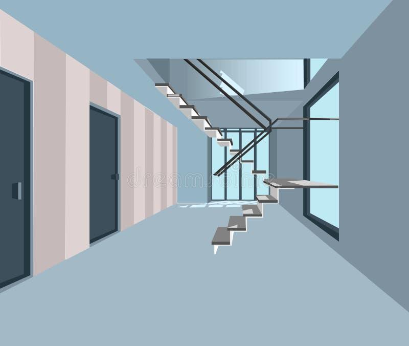 Vector moderno de la oficina stock de ilustración