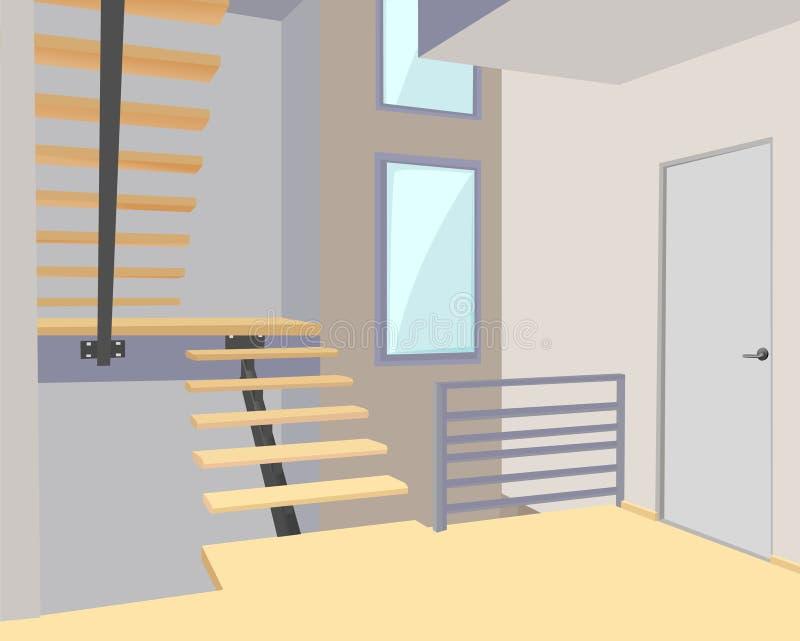 Vector moderno de la oficina libre illustration