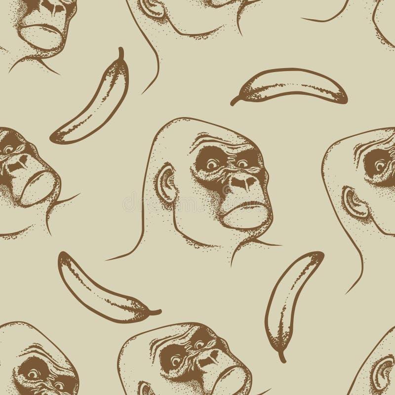 Vector Monkey Concept stock illustration