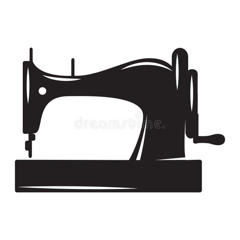 Vector monochrome illustration on the theme of tailoring.  stock illustration